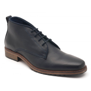 Parc City Boot Co. Riverdale Boot in Navy