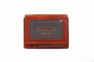 Bosca Front Pocket I.D. Wallet in Old Leather