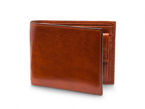 Bosca RFID Euro-Size Wallet w/Coin Pocket in Old Leather