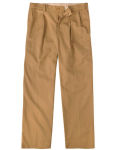 Bill's Khakis M1 Pleated Vintage Twill --Relaxed Fit-- British Khaki