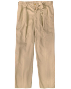 Bill's Khakis M1 Pleated Vintage Twill --Relaxed Fit-- Khaki