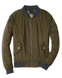 Bill's Khakis Bomber Jacket in Olive
