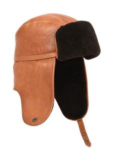Aston Abbeville Lambskin Trapper Hat