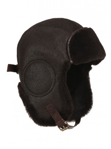 Aston B-52 Aviator's Sheepskin Hat