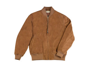 Golden Bear Toland Baseball Jacket --Classic Fit --in Rum