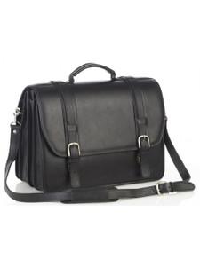 Aston Leather Conrad Quad Compartment Briefcase