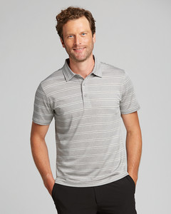 Cutter & Buck Forge Polo Heather Stripe --Tailored Fit