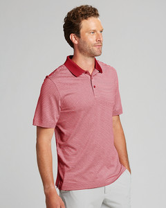 Cutter & Buck Forge Polo Tonal Stripe --Big & Tall Fit