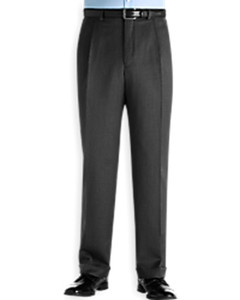 Ballin Classic Comfort-EZE Super 120s Gabardine Pants - Manchester Model (Traditional Full Fit Double Pleat Model) --BIG SIZES