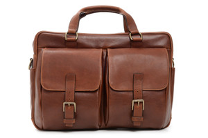 Korchmar Barton Leather Laptop Briefcase