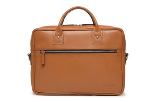 Korchmar Edwin Slim Leather Briefcase