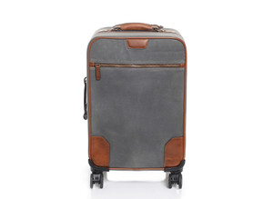 "Korchmar Whitman 22"" Waxed Canvas Wheeled Carry-On"