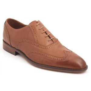 Parc City Landsdowne Shoe in Tan Leather