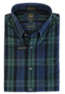 Viyella Long Sleeve Black Watch Sport Shirt