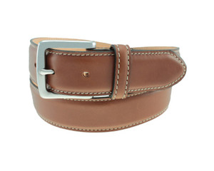 T. B. Phelps Columbia Leather Dress Belt