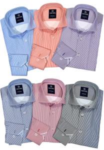 Marcello Easy Care Classic Stripe Shirt