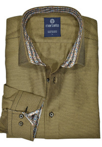 Marcello Royal Oxford Shirt in Harvest