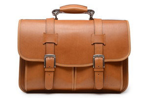 Korchmar Garfield Leather Laptop Messenger