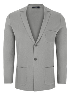 Stone Rose Knit Blazer