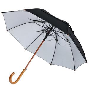 GustBuster Classic SunBLOK Umbrella in Silver/Black