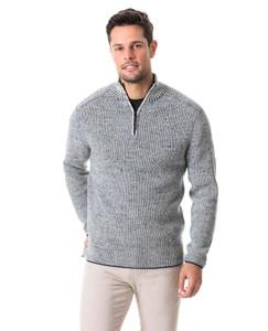 Rodd & Gunn Slope Hill Sweater in Oatmeal
