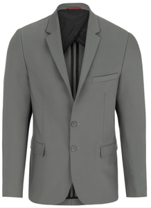 Stone Rose Grey Stretch Performance Blazer