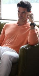 Romeo Merino V-Neck Sweater