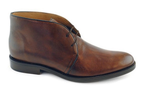 Alan by Alan Payne Genuine Deerskin Almond Chukka Boot