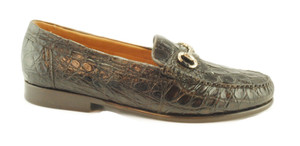 Mauricio by Alan Payne Genuine Crocodile Bit Loafer