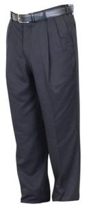 Berle Microfiber Performance Trouser - Pleated Front