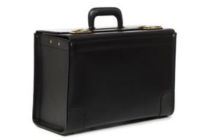 Korchmar Workhorse  Leather Locking Catalog Case