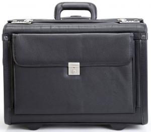 Korchmar Mobilemax  Wheeled Leather Catalog Case