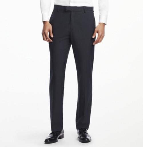 Ballin Classic Comfort-EZE Super 120s Gabardine Pants - Dunhill Model (Modern Plain Front Model)