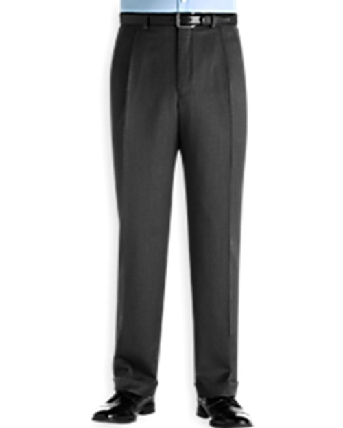 Ballin Classic Comfort-EZE Super 120s Gabardine Pants - Manchester Model (Traditional Full Fit Double Pleat Model)