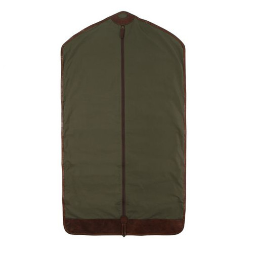 Moore & Giles Holton Garment Sleeve in Ventile Olive