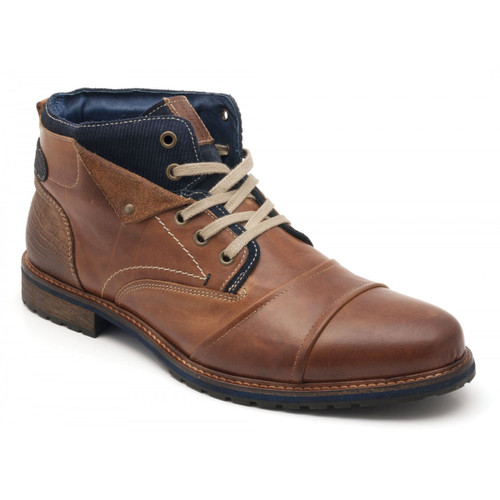 Parc City Boot Co. Jasper Boot in Cognac