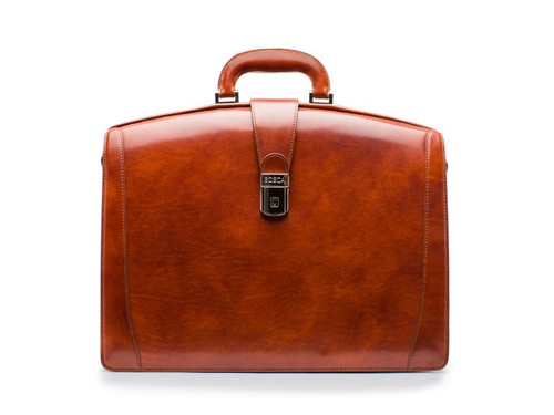 Bosca Large Partners Brief in Old Leather