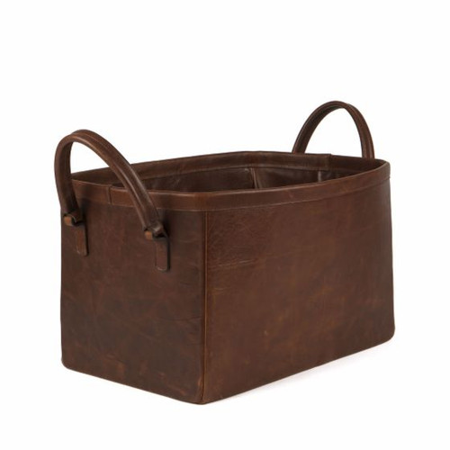 Moore & Giles Leather Room Basket