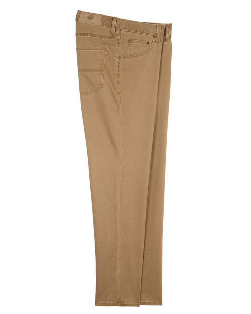 Bill's Khakis 5-Pocket Straight Fit T400 Performance Twill Jeans in Clay