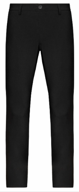 Stone Rose Black Performance Twill Pants
