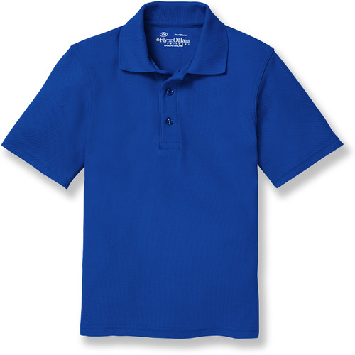 Short Sleeve Polo Shirt with embroidered logo [TX133-KNIT-FWC-ROYAL]