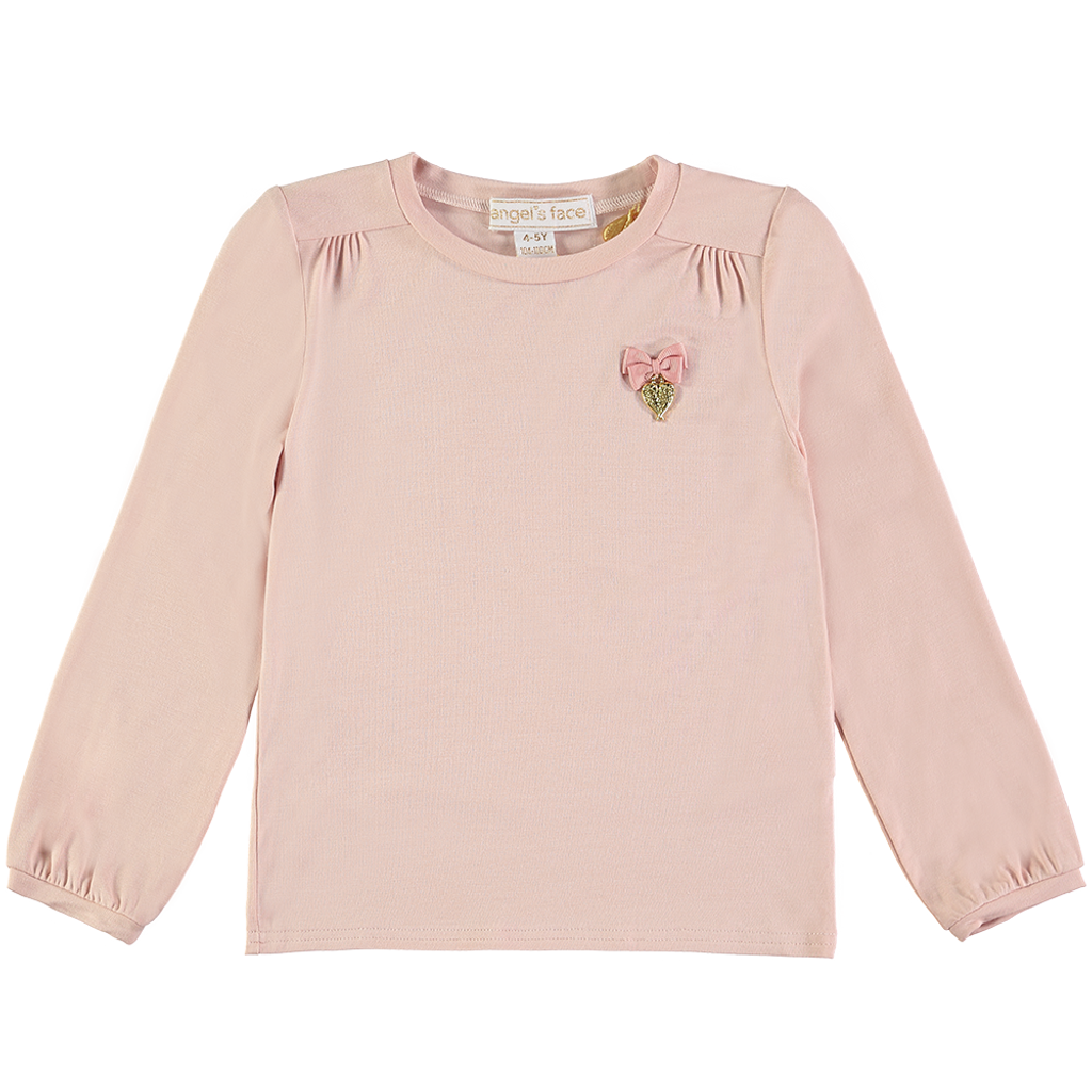 Angel's Face | Crystal Wings Top | Blush Pink