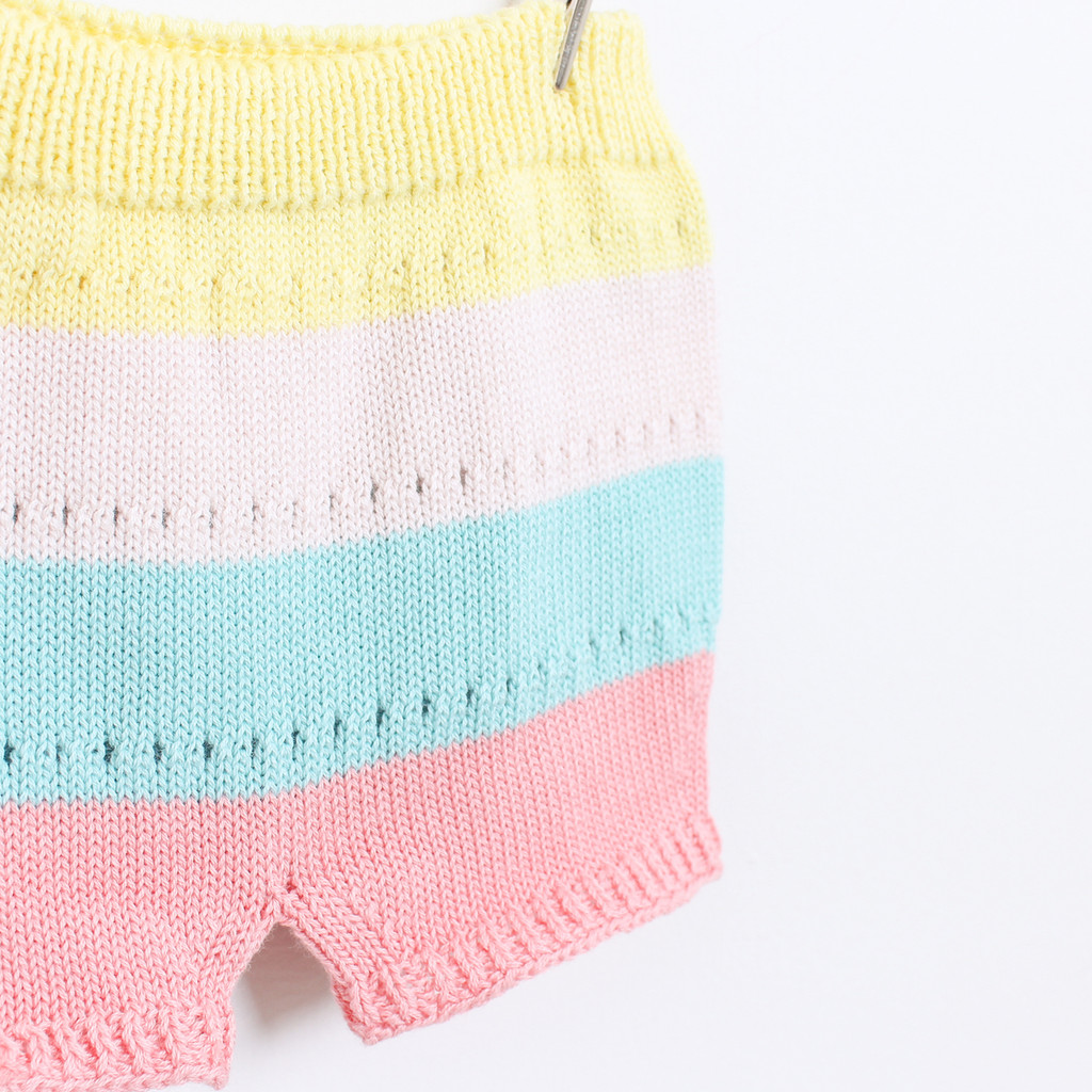 KNOT | SS18 | LOVE KNITTED BLOOMERS | STRIPE