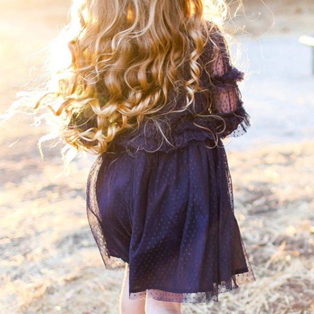 VELVETEEN | LUNA | SMOCKED FRILL DRESS
