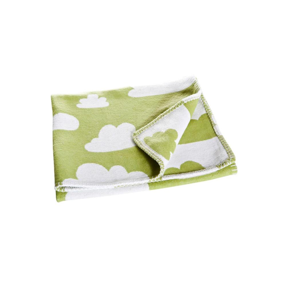 FARG FORM |  Blanket - Moln | Green