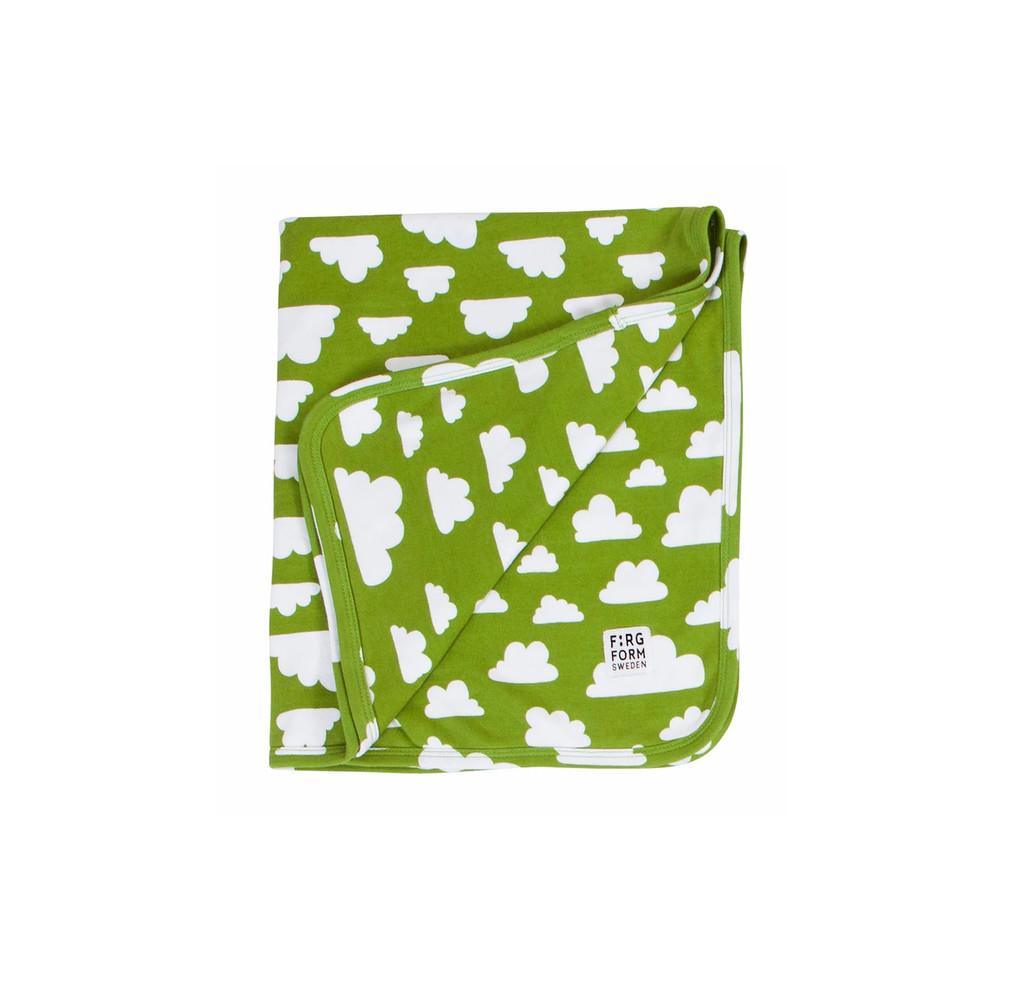 FARG FORM |  Blanket Cotton - Moln | Green