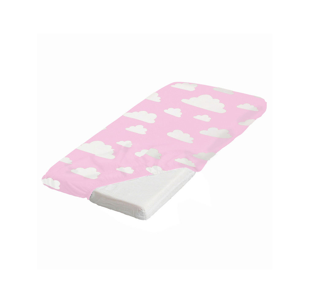 FARG FORM | Fitted Sheet Moln | Pink