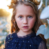 VELVETEEN | LUNA | SMOCKED FRILL DRESS