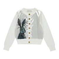 Angel's Face | WOODLANDS CARDI HARE | WHITE