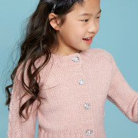ANGEL'S FACE | KYLIE CARDIGAN | VINTAGE ROSE